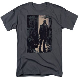 Watchmen/Light Short Sleeve Adult T-Shirt 18/1 in Charcoal
