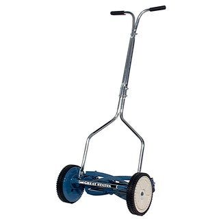 Great States 204-14 14 Inches Deluxe Hand Reel Push Lawn Mower