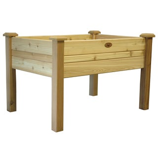 Gronomics EGB 34-48 34 inches x 48 inches x 32 Inches Unfin Western Red Cedar Elevated Garden Bed