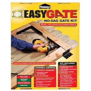 Homax 80099 Steel No Sag EasyGate Bracket Kit