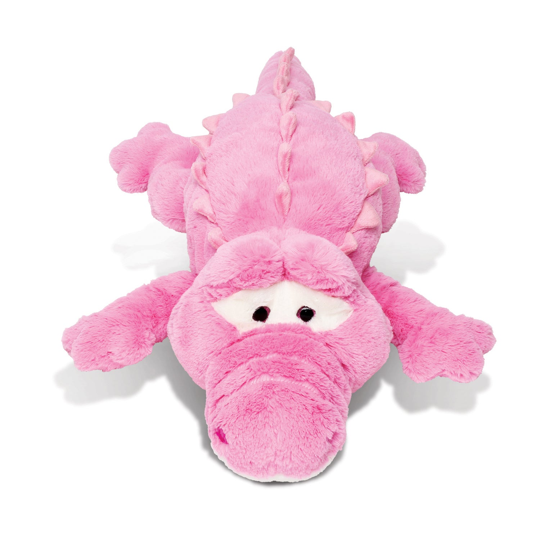 Puzzled Plush Pillow Xl Pink Alligator Stuffed Toy (Produ...