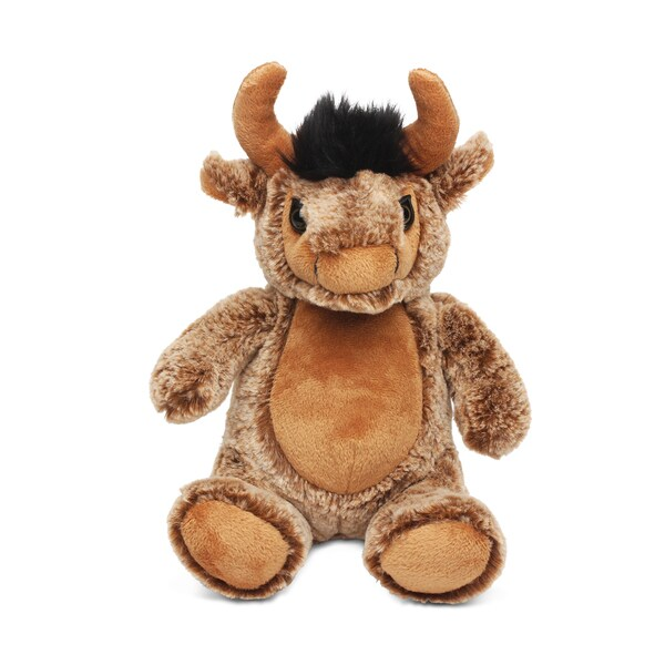 Shop Puzzled Super Soft Plush Sitting Buffalo On Sale Free