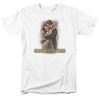 Gone With The Wind/Embrace Short Sleeve Adult T-Shirt 18/1 in Cream