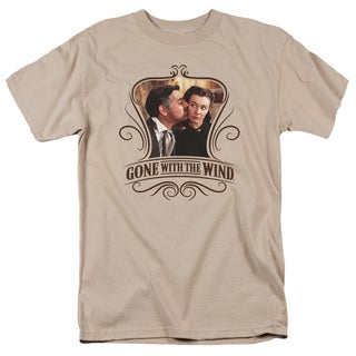 Gone With The Wind/Kissed Short Sleeve Adult T-Shirt 18/1 in Sand