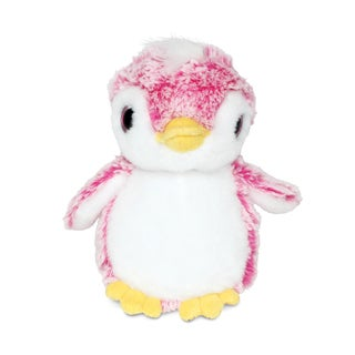 Puzzled Pink Super Soft Plush Penguin