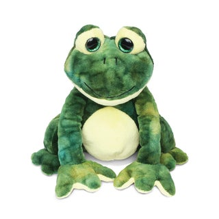 Puzzled Super-soft Plush Squat Frog Stuffed Toy