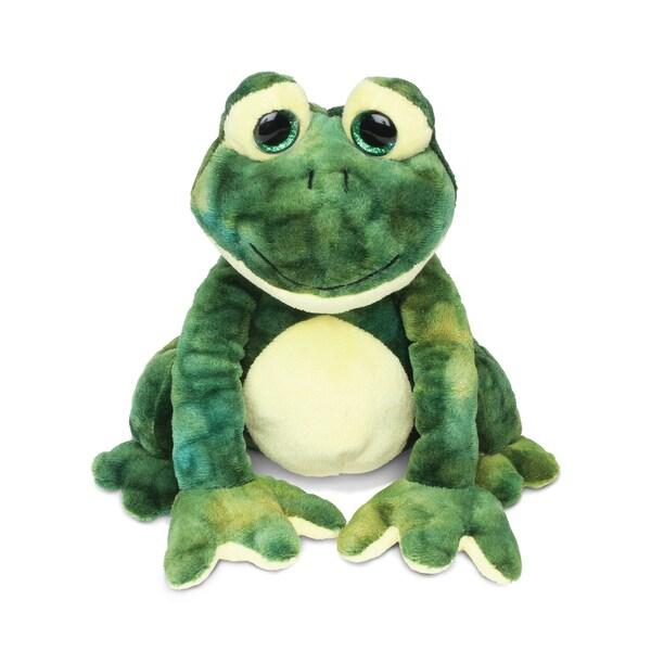 Puzzled Super-soft Plush Squat Frog Stuffed Toy