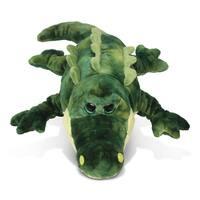 Puzzled Super-Soft Plush Gator Stuffed Toy