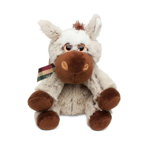 Puzzled Super Soft Plush Floppy Donkey