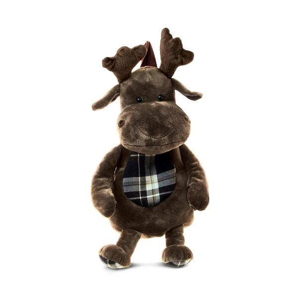 Shop Puzzled Stylish Plush Moose Backpack