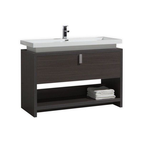 Kubebath Levi 48 Inch Single Sink Bathroom Vanity Free