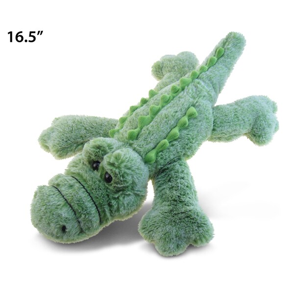 Puzzled Alligator Large Super Soft Plush