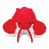 Puzzled Red Lobster Plush Toy