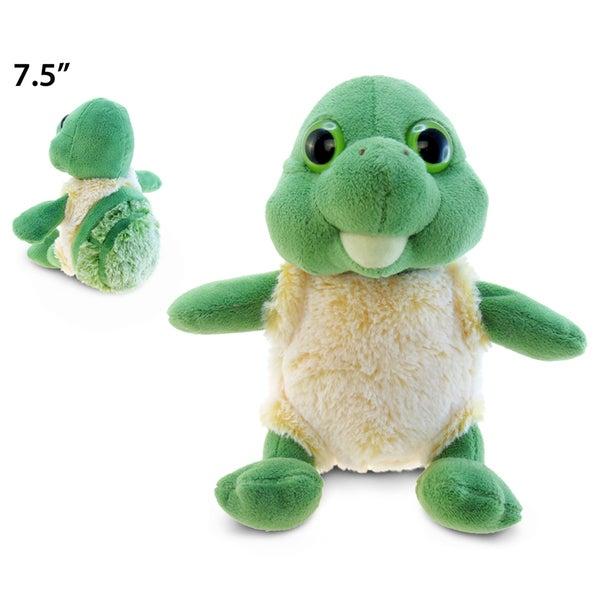 Puzzled Inc. Small Super-soft Plush Sitting Sea Turtle