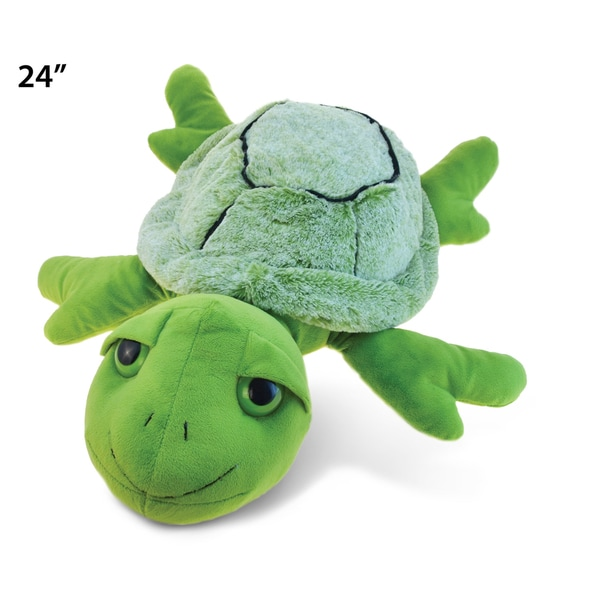 Puzzled Inc Green XL Super Soft Plush Turtle