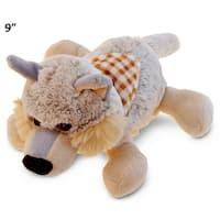 Puzzled Super Soft Plush Lying Wolf