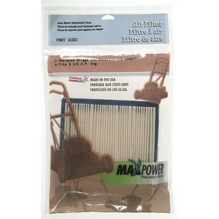 Maxpower 334300 Briggs & Stratton 399877 Air Filter