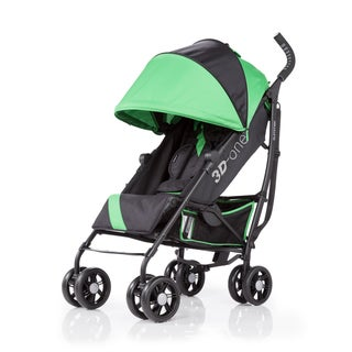 Summer Infant 3D-One Brilliant Green Convenience Stroller