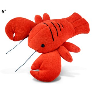 Puzzled Inc. Plush 6-inch Lobster Stuffed Animal