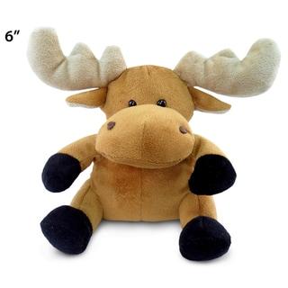 Puzzled Inc. 6-inch Plush Moose Stuffed Animal