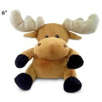 Puzzled Inc. 6-inch Plush Moose Stuffed Animal