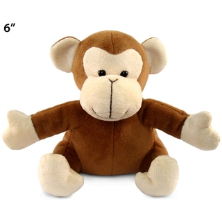 Puzzled Monkey 6-inch Plush