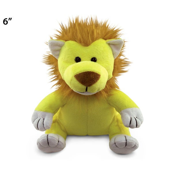 Puzzled 6-inch Plush Lion