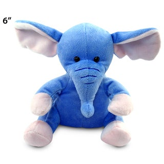 Puzzled Elephant 6-inch Plush