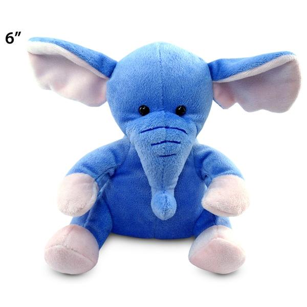 Shop Puzzled Elephant 6-inch Plush