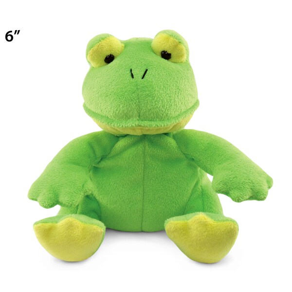 Puzzled Frog 6-inch Plush