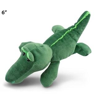 Puzzled 6-inch Plush Alligator