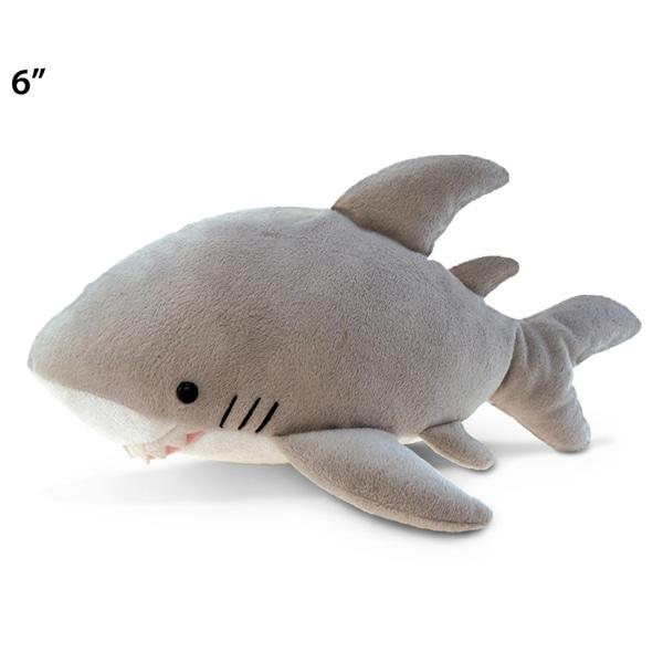 Puzzled 6-inch Plush Shark