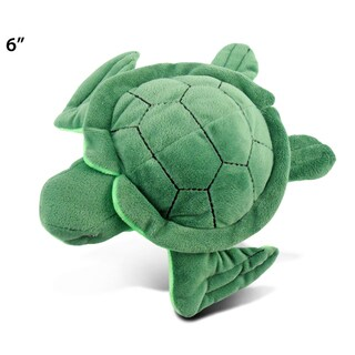 Puzzled 6-inch Plush Sea Turtle