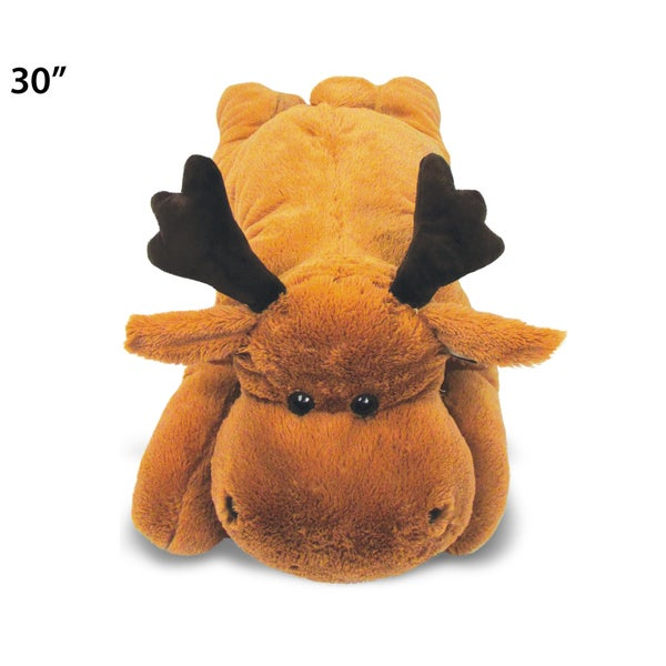 Puzzled Stylish Plush XL Moose Pillow