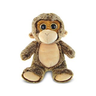 Puzzled Super Soft Plush Sitting Monkey Doll