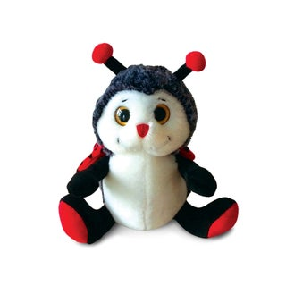 Puzzled Super Soft Sitting Ladybug Plush