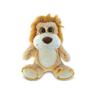 Puzzled Sitting Beige Lion Super Soft Plush