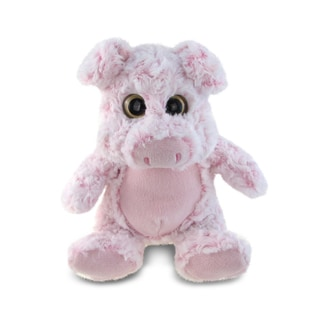 Puzzled Super Soft Sitting Pig Plush Doll