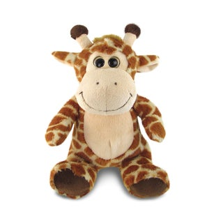 Puzzled Inc Brown Super Soft Plush Sitting Giraffe