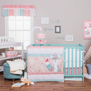 Trend Lab 'Wild Forever' Multicolor Cotton/Polyester 3-piece Crib Bedding Set