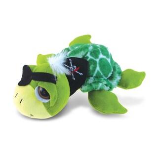 Puzzled Super-soft Plush Green Pirate Sea Turtle