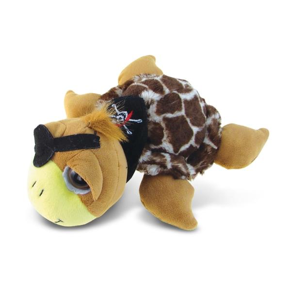 Puzzled Super-soft Plush Brown Pirate Sea Turtle