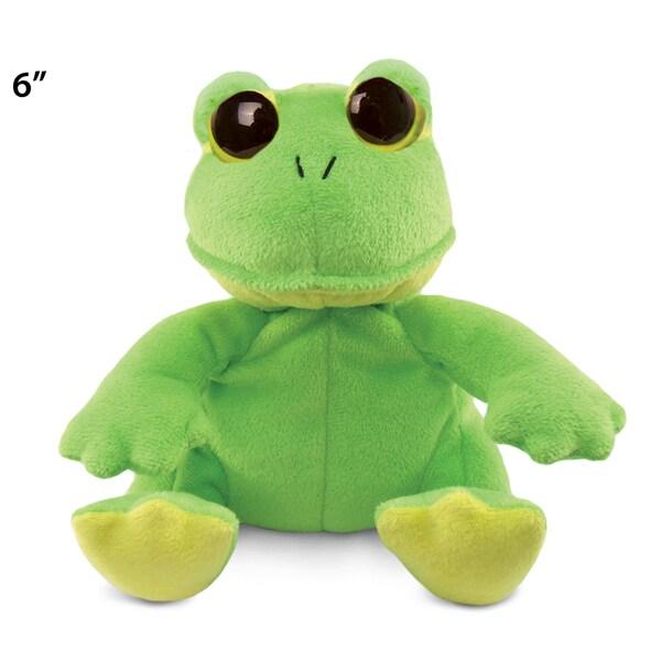 Puzzled Big Eye 6-inch Plush Frog
