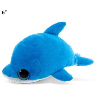Puzzled Dolphin Big Eye 6-inch Plush