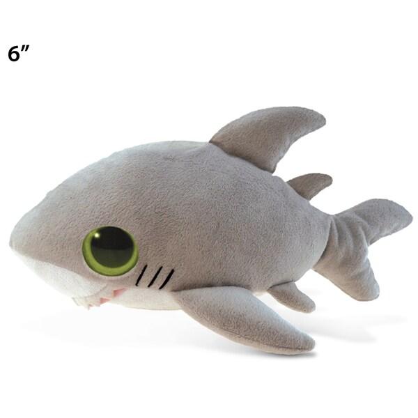 Puzzled Big Eye 6-inch Plush Shark