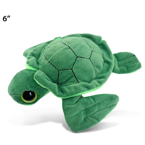 Puzzled Sea Turtle Big-eye 6-inch Plush