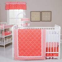 Trend Lab Shell 3-piece Crib Bedding Set