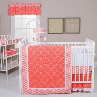 Trend Lab Shell 3-piece Crib Bedding Set