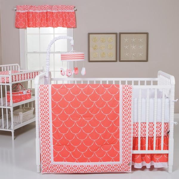 Shop Trend Lab Shell 3-piece Crib Bedding Set - Free
