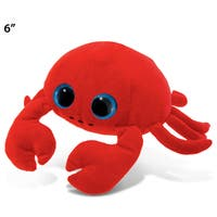Puzzled Crab Red 6-inch Big-eye Plush